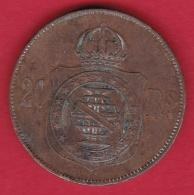 Brésil - 20 Reis  - 1869 - Brésil