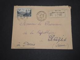 ALGERIE – Env Recommandée Pour La France – Détaillons Petite Archive - A Voir – Lot N° 18965 - Algérie (1924-1962)