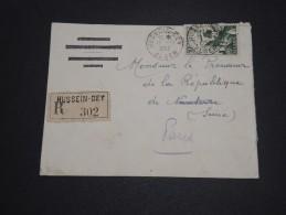ALGERIE – Env Recommandée Pour La France – Détaillons Petite Archive - A Voir – Lot N° 18971 - Covers & Documents
