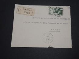 ALGERIE – Env Recommandée Pour La France – Détaillons Petite Archive - A Voir – Lot N° 18974 - Algérie (1924-1962)