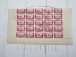 VEND BEAUX TIMBRES D ´ ALGERIE N°104 , EN DEMIE - FEUILLE , XX !!!! - Unused Stamps