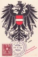 ! Sonderstempel Im Neues Osterreich   25/10/1945      C759 - 1945-.... 2a Repubblica
