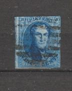 COB 11 Oblitéré P Ouest Nipa +350 - 1858-1862 Medaglioni (9/12)