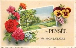 60 Une Pensée De MANTATAIRE - Montataire