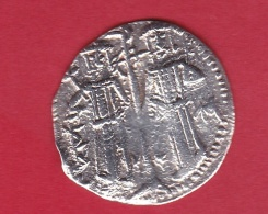Bulgarie - 1 Groshe Argent Michael Asen Et Ivan Alexander 1331-1371 - Bulgaria