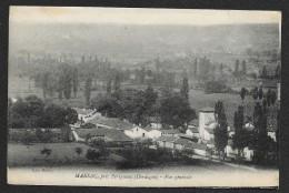 MARSAC Vue Générale (Roche) Dordogne (24) - France