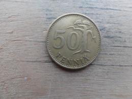 Finlande  50 Pennia  1971  Km 48 - Finlande