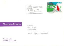 "Motiv Karte  ""Pharma Singer, Niederurnen""           1969 - Switzerland"