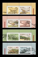 Romania 2016 Mih. 7027/30 Fauna. Prehistoric Animals. Dinosaurs (with Labels) MNH ** - Unused Stamps