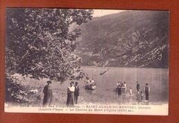 1 Cpa Saint Alban De Montbel Bords Du Lac - Autres Communes