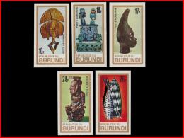 Burundi PA 0052/56** ND  - Art Africain  MNH - Burundi