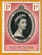 Falkland Islands **LUXE 1953 P 115 - Falkland Islands