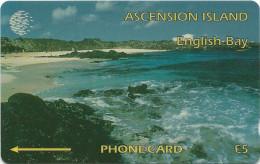 Ascension Isl. - English Bay - 6CASA - 1994, 5.000ex, Used