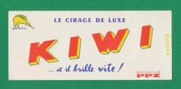Buvard - Cirage De Luxe - KIWI - Buvards, Protège-cahiers Illustrés