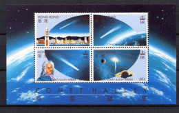 Hong Kong,  1986,  Comet Halley - Space