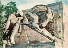 2 - Horse - Brothers' Cemetery - Military Cemetery - Memorial - Bralu Kapi - Riga - 1958 - Latvia USSR - Unused - Lettonie