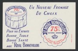 Buvard - Fromage - Le Royal Bonnevillois - Blotters