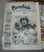 Candido Nuova Serie Satira Guareschi Del 07 Novembre 1968 Rivista - Livres, BD, Revues