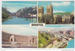 Bristol Municipal Building - The Cathedral -View From Bridge- Clifton Suspension Bridge - Bristol