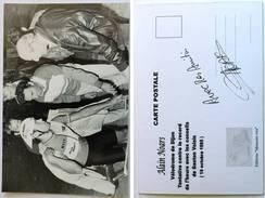 Cyclisme - Alain NOARS - Vélodrome De Dijon En 1985, Signé De - Dédicace - Hand Signed - Autographe Authentique  - - Cyclisme