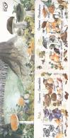 #BV3441 MUSHROOMS, PLANTS, 1994, Mi 5005/12, MNH**, BOOKLET X 2, ROMANIA - Carnets