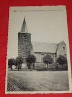 GHOY  -  LESSINES  -  Eglise St Médard Et Mémorial Aux Morts Des Deux Guerres -  (2 Scans) - Lessen