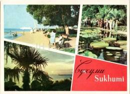 Primorsky Boulevard - Botanical Garden - Sukhumi - Abkhazia - 1968 - Georgia USSR - Unused - Géorgie