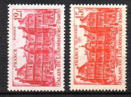 France   N° 803 & 804  Neuf  XX  MNH , Cote :  4,85 €  Au Quart De Cote - France