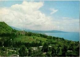 Panorama - Black Sea - New Athos - Novyi Afon - Abkhazia - 1983 - Georgia USSR - Unused - Géorgie