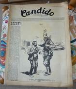 Candido Nuova Serie Satira Guareschi Del 12 Settembre 1968 Rivista - Livres, BD, Revues