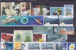 ISLANDE : Y&T : Lot De 25 Timbres ** - Collections, Lots & Séries