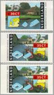 1991 Zomer Ongetand  NVPH 1471a,b,c Postfris/MNH/** - 1980-... (Beatrix)