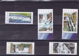 ISLANDE : Les Chutes D'eau : Y&T : 1060** à 1065** - Islande