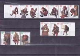 ISLANDE : Les Bonhommes De Noel Islandais : Y&T : 877B à 877P** - Collections, Lots & Séries
