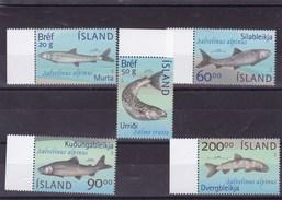 ISLANDE : Poissons Du Lac Thinguellir : Y&T : 940** à 944** - Islanda