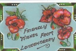 GREETINGS CARD. LONDONDERRY - Londonderry