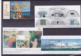 ISLANDE: Y&T : BF  25**-29**-34**-41** - Collections, Lots & Séries