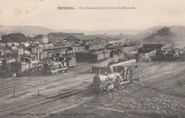 Epinal - Vue D'ensemble De La Gare Et Des Rotondes - Epinal