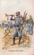 Guerre 1914-18 -ref K832- Illustrateur Leon Hingre -regiments -infanterie De Ligne -clairon -lvc  - Carte Bon Etat - - Regiments