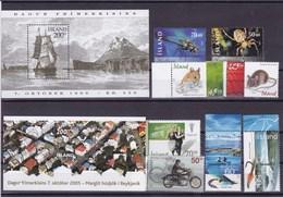 ISLANDE: Y&T : Lot De 8 Timbres **  + BF 24**-39** - Collections, Lots & Séries