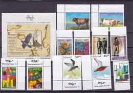 ISLANDE:  : Y&T :  Lot De 11 Timbres ** + BF 33** - Collections, Lots & Séries