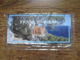 EMISSION COMMUNE SOUS BLISTER : FRANCE - LIBAN 2008 !!! - Sheetlets