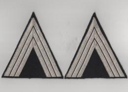 Galons De Manche De Vareuse - Maréchal Des Logis Chef - Gendarmerie - Ausrüstung