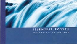ISLANDE: Les Chutes D'eau : Y&T : Carnet De Prestige ** - Carnets