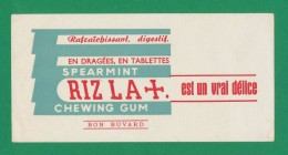 Buvard - Chewing Gum RIZ LA+ - Blotters