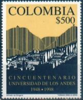 Colombia 1998. YT 1093 Universidad De Los Andes, 50 Aniversario.  See Desc. - Colombie