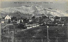 Dauphiné - Mens (Isère) - Vue Générale - L'Obiou - Carte E.R. N° 528 Non Circulée - Mens