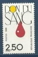 "Yt 2528 "" Don Du Sang "" 1988 Neuf ** - France"