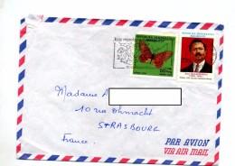 Lettre Flamme Tanarive Sur Papillon Ralaimongo - Madagascar (1960-...)