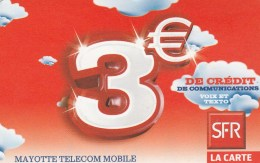 Mayotte - De Credit De Communications - 3€
